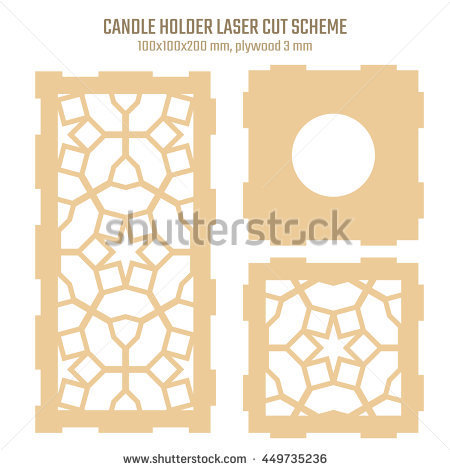 stock-vector-diy-laser-cutting-vector-scheme-for-candle-holder-woodcut-lantern-plywood-mm-oriental-geometric-449735236