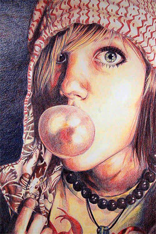 Rby Portrait Brenda Robson Art